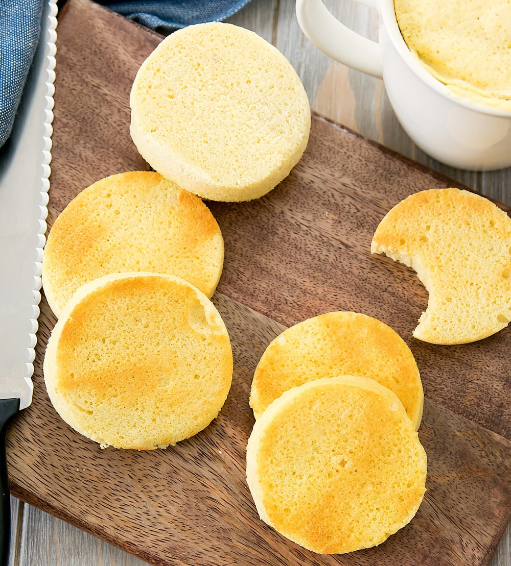 Keto Low Carb Mug Bread - Kirbie's Cravings
