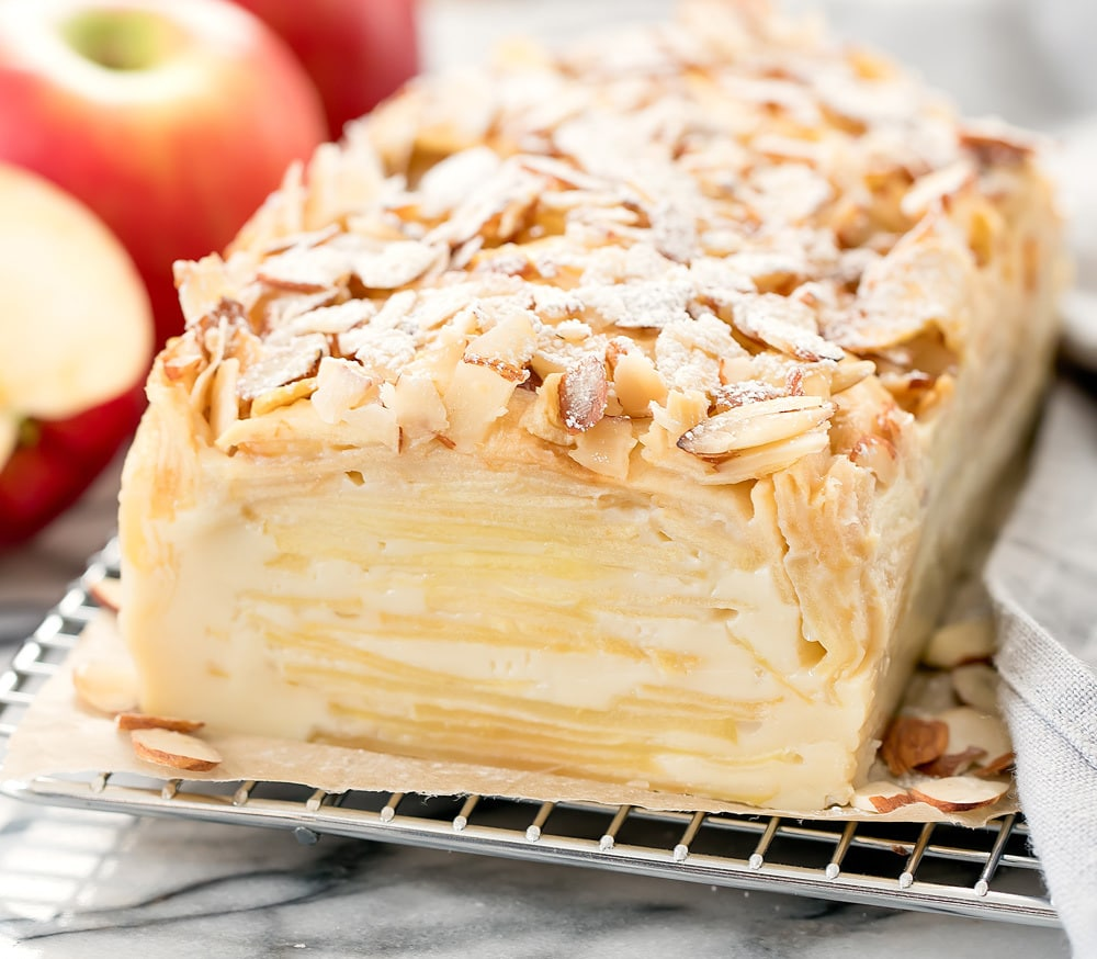Invisible Apple Cake G 226 Teau Invisible Kirbie S Cravings
