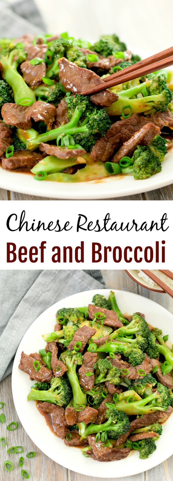 Beef and Broccoli. This popular Chinese dish can easily be made home. Learn how to make restaurant style beef and broccoli stir fry that is better than take-out.