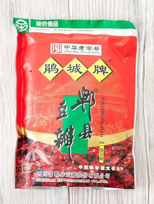 photo of a package of Doubanjiang