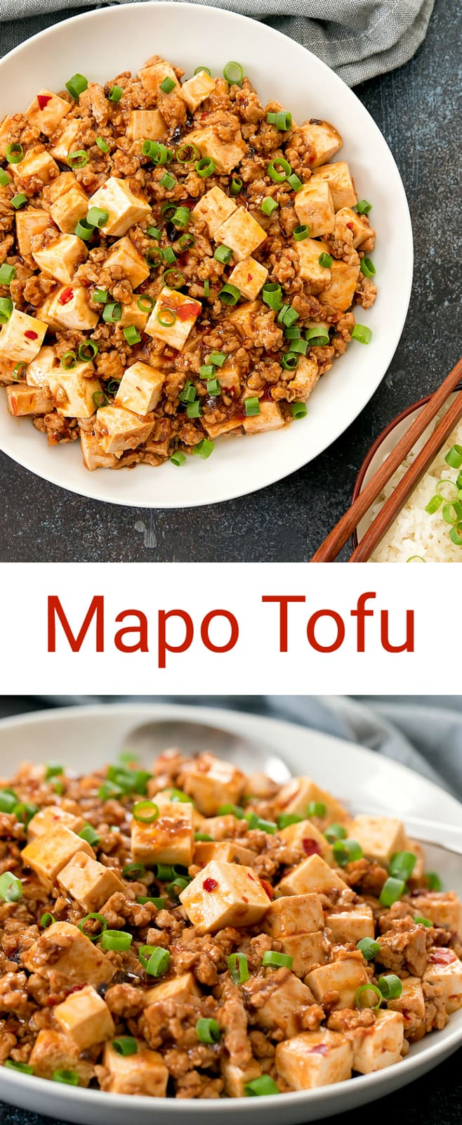 Mapo Tofu. Learn how to make an authentic version of this popular Chinese Sichuan dish at home.