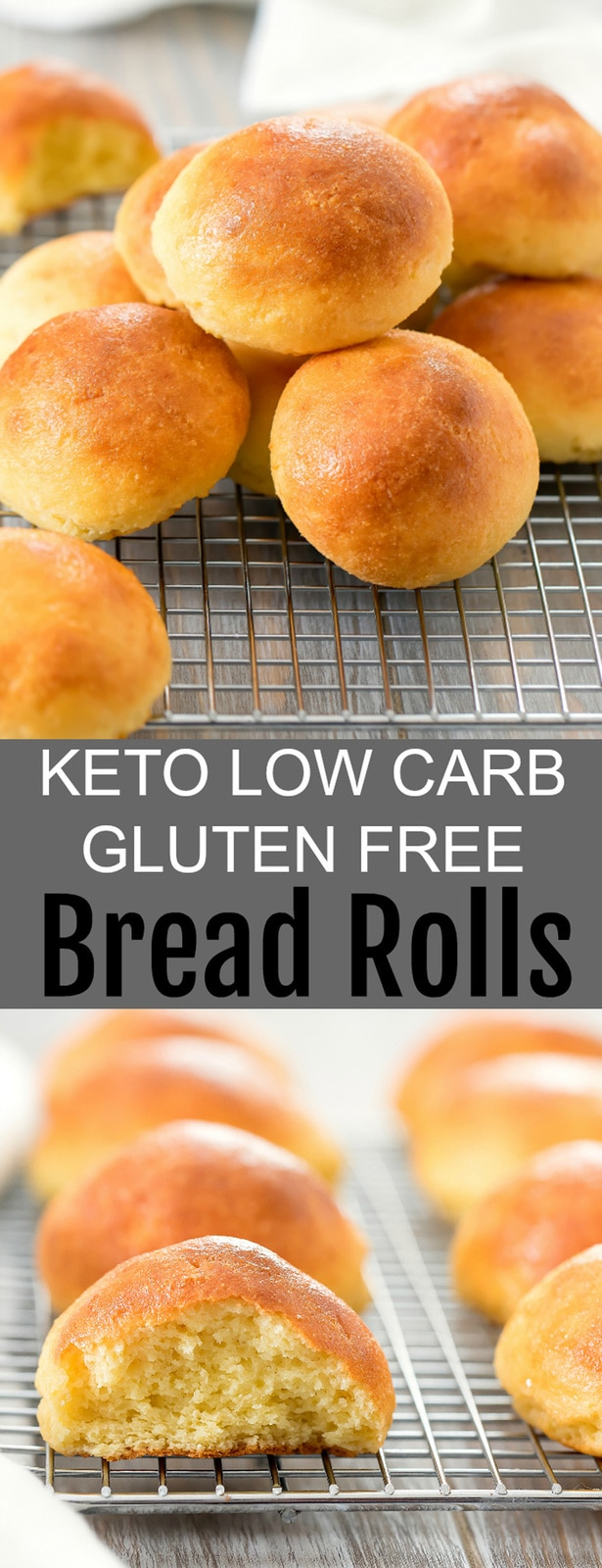 Keto Bread Rolls - Kirbie's Cravings