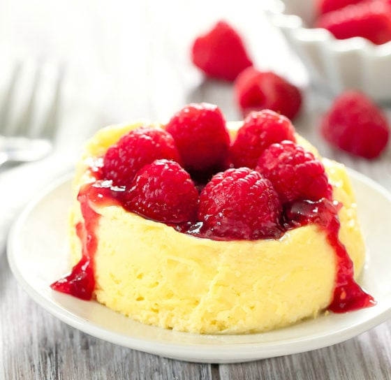 Keto, Low Carb Microwave Cheesecake
