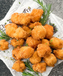 photo of cauliflower bites