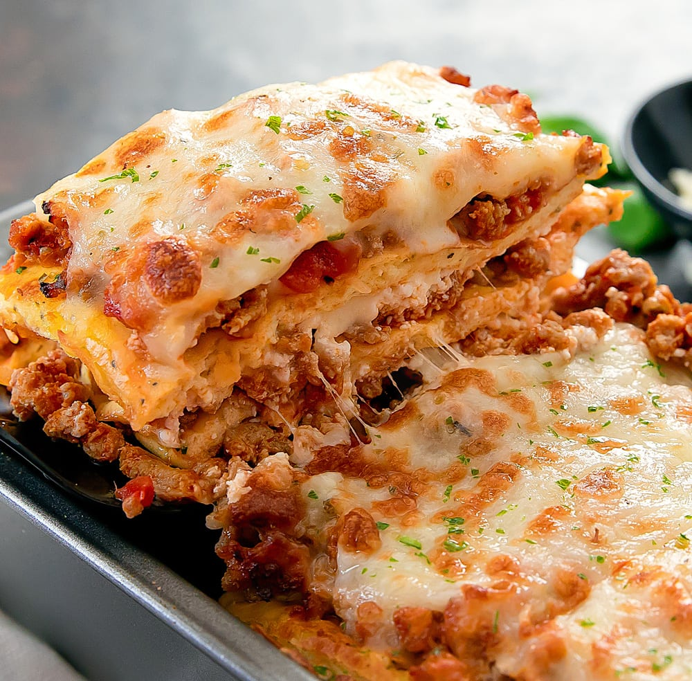 Low Carb Keto Lasagna