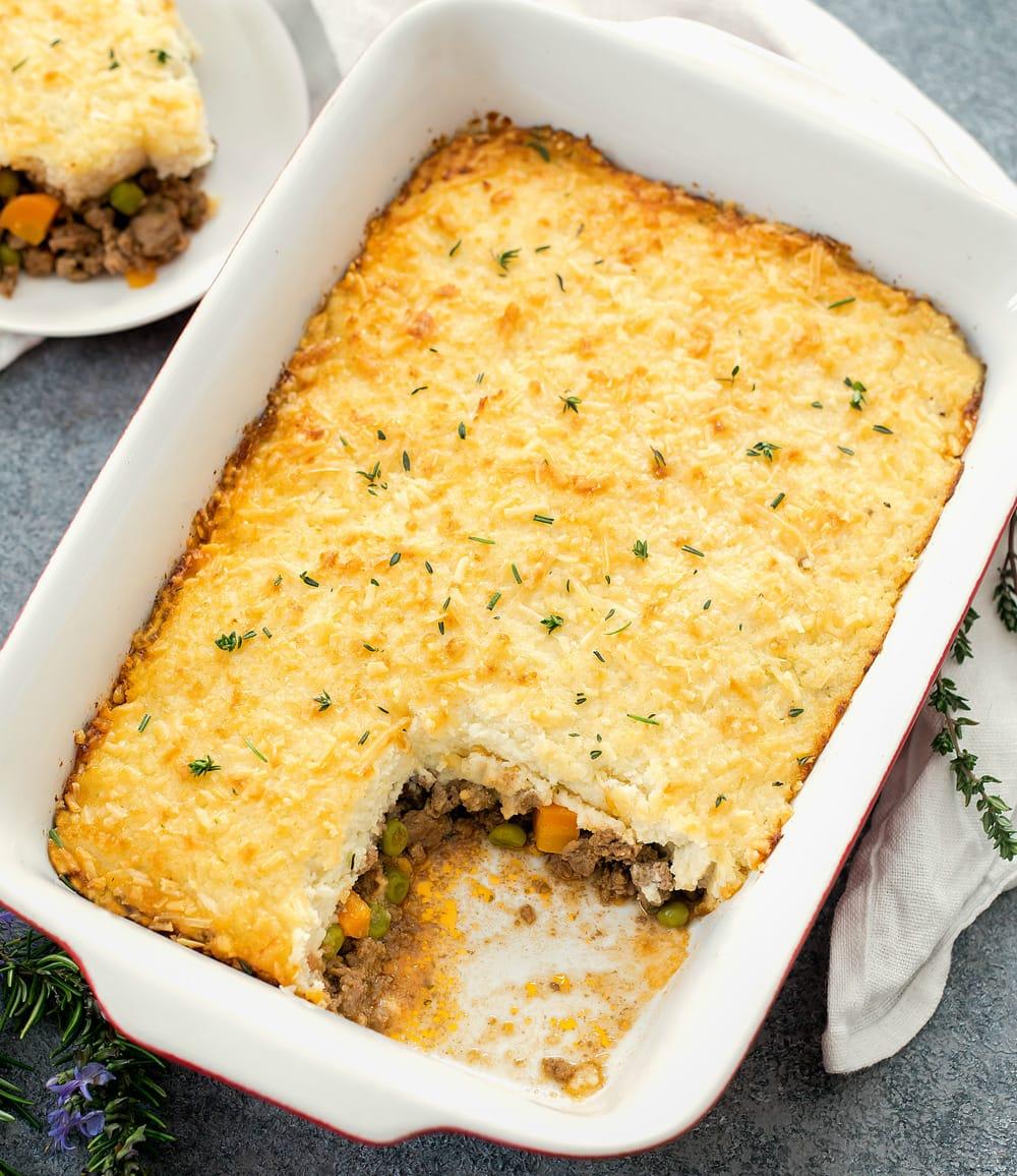 Low Carb Keto Shepherd S Pie Kirbie S Cravings