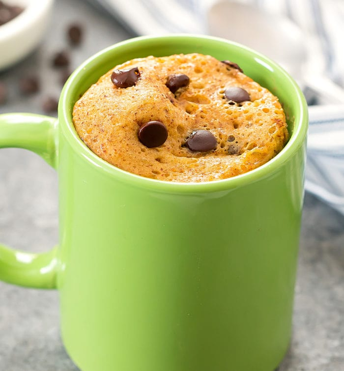 photo of a Almond Butter Mug Cake