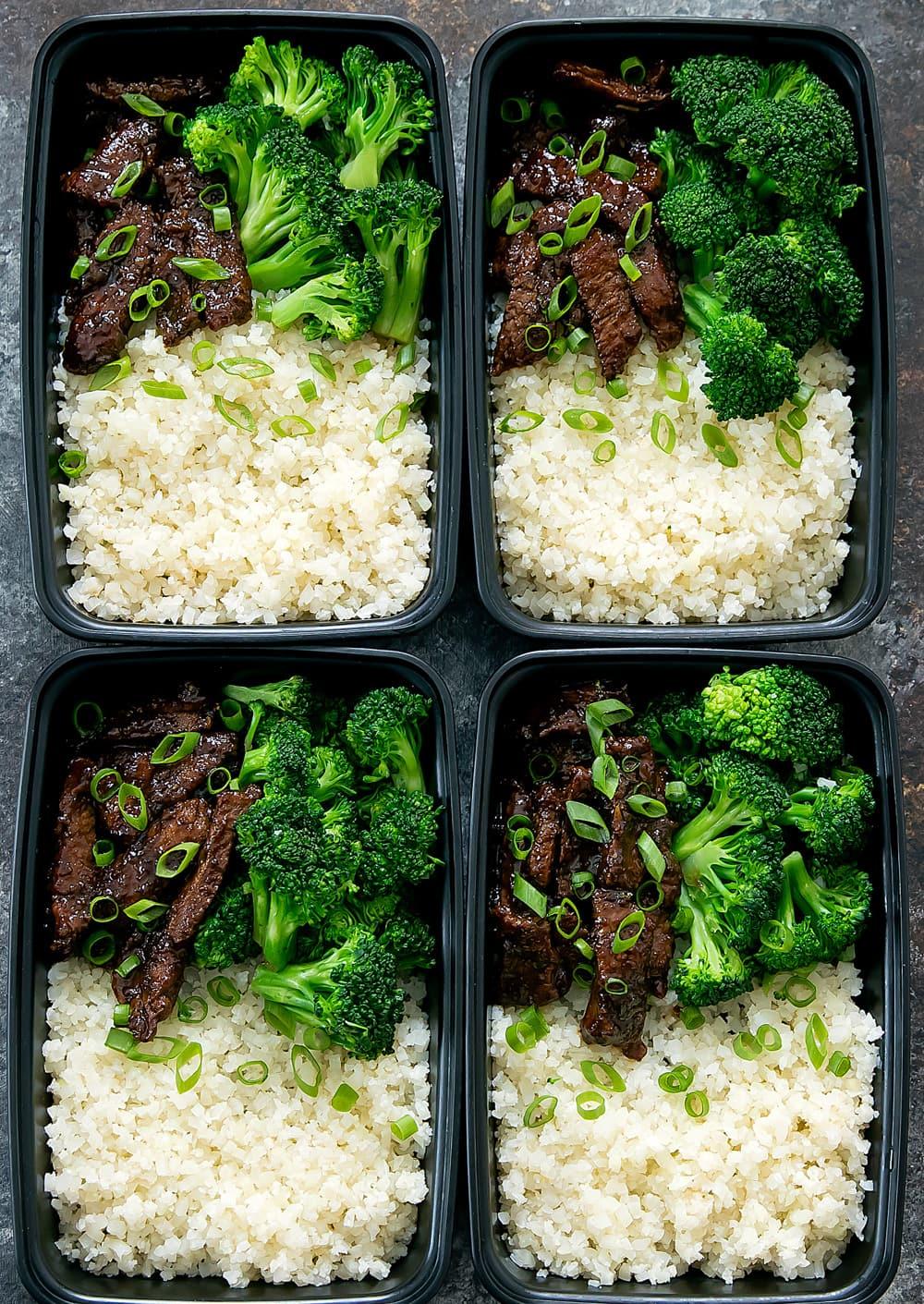 Mongolian Beef Meal Prep - Kirbie's Cravings
