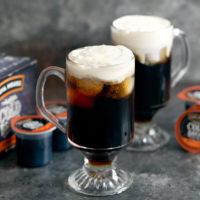 photo of cold brew irish cream cocktails