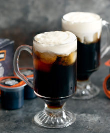 photo of cold brew irish cream cocktails