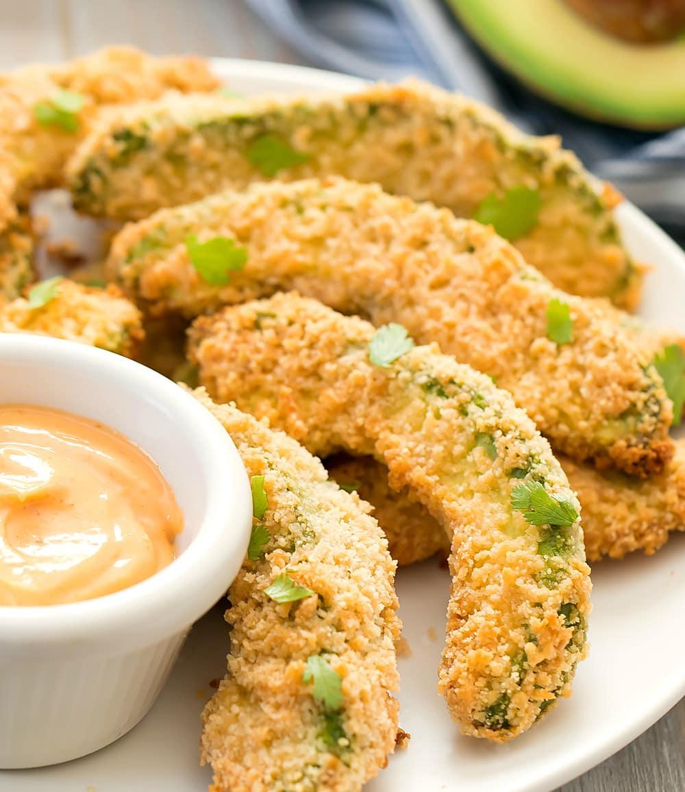 Keto Avocado Fries (Air Fryer or Baked)