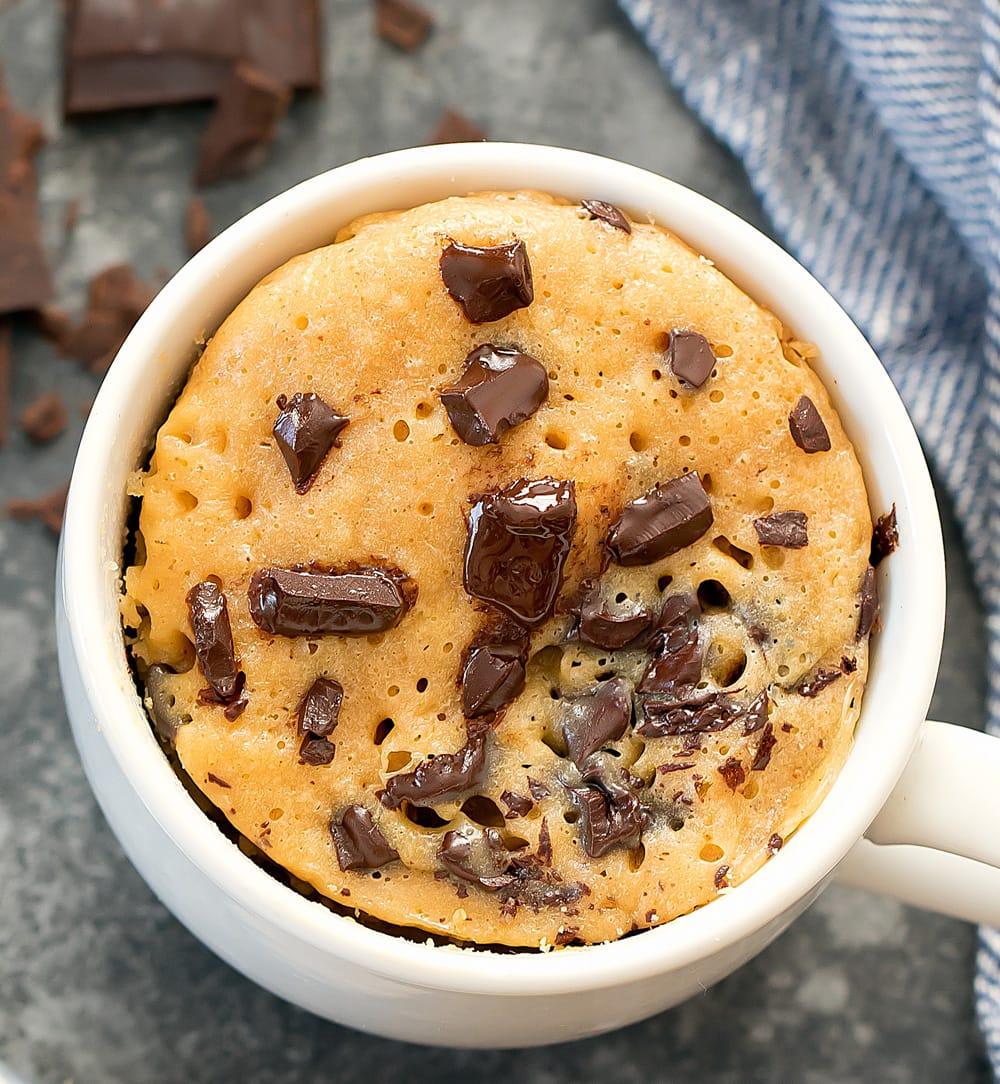 Keto Peanut Butter Mug Cake