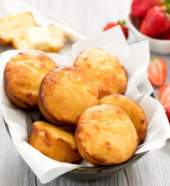 Low Carb Sweet Butter Biscuits