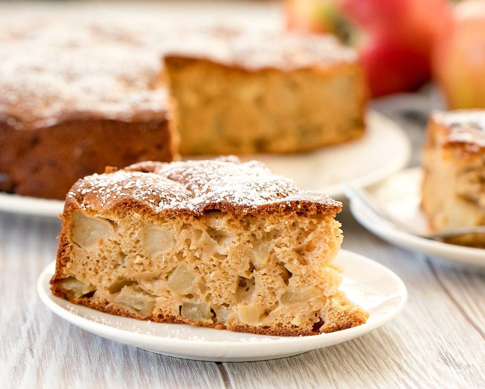 Easy Apple Cake With Just 4 Ingredients Kirbie S Cravings