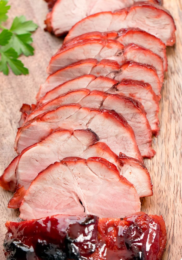 photo of sliced BBQ pork