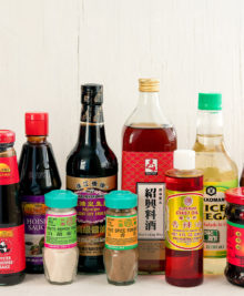 group photo of all ingredients