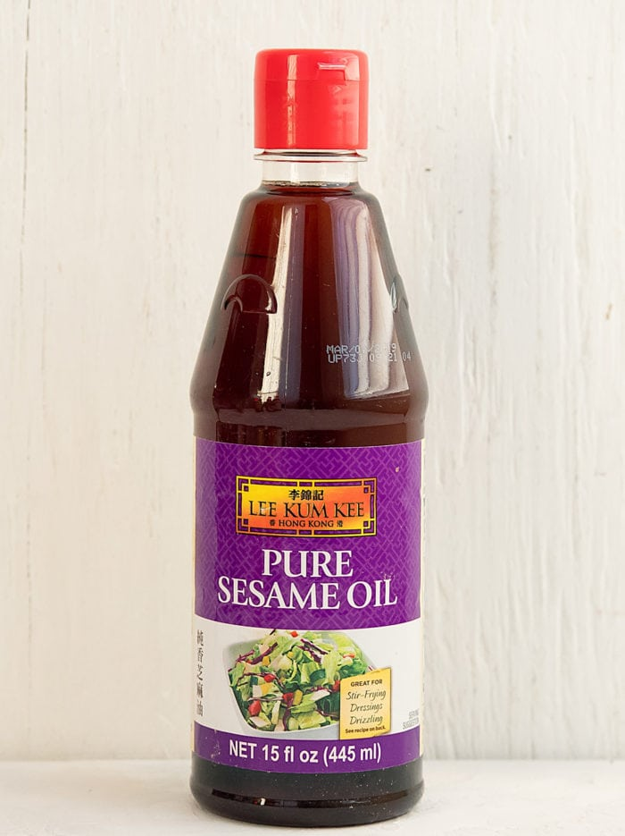 photo of sesame oil