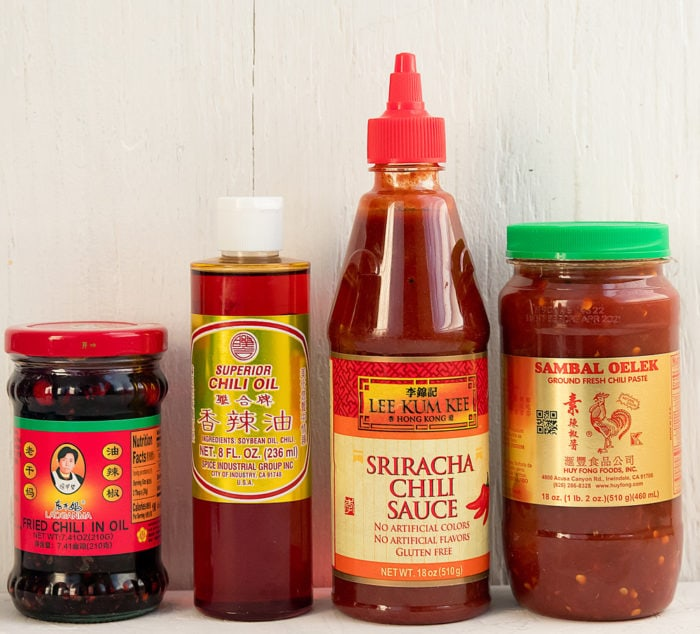 photo of chili sauces