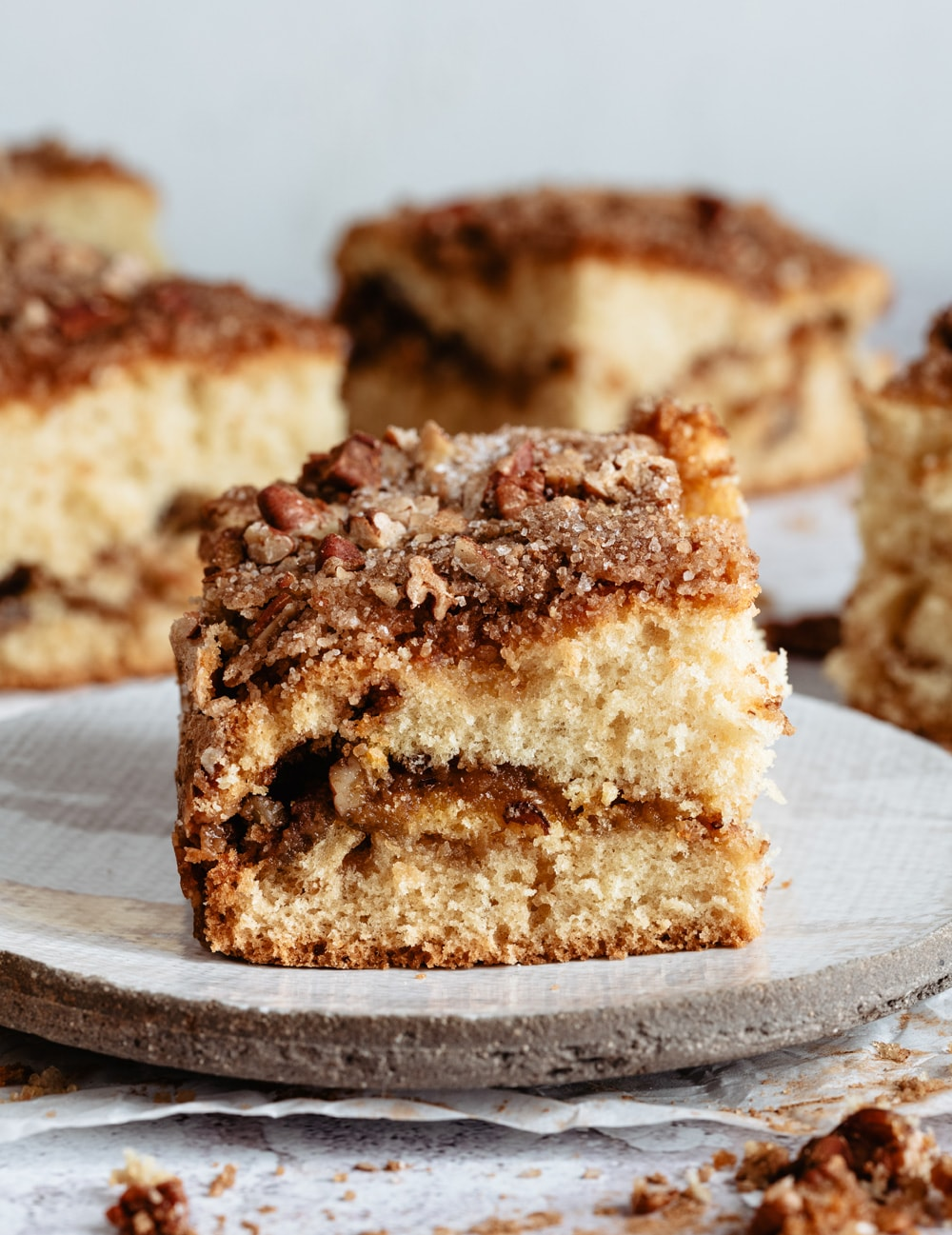 Sour Cream Coffee Cake Kirbie S Cravings
