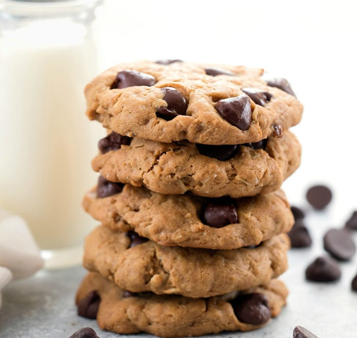 close up photo of a stack of cookies