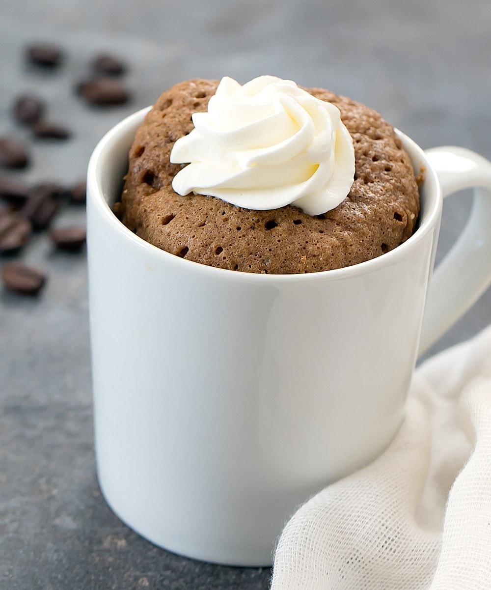 Coffee Mug Cake Keto Low Carb Kirbie S Cravings