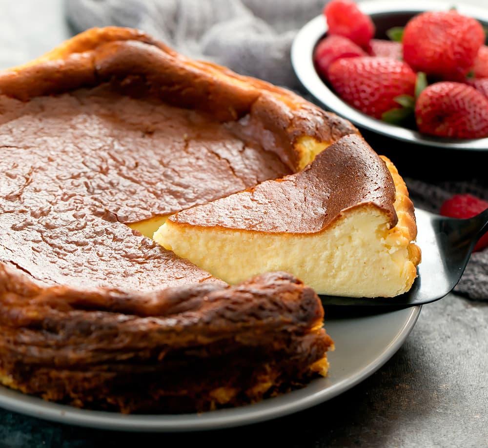 Basque Burnt Cheesecake Kirbie S Cravings