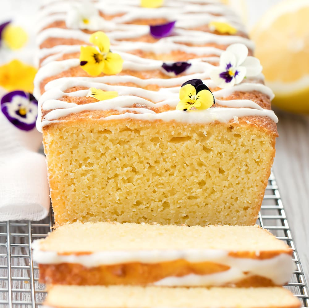 Keto Lemon Cake Kirbie S Cravings