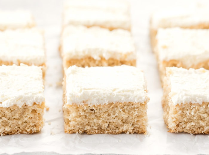 photo of slices of cake