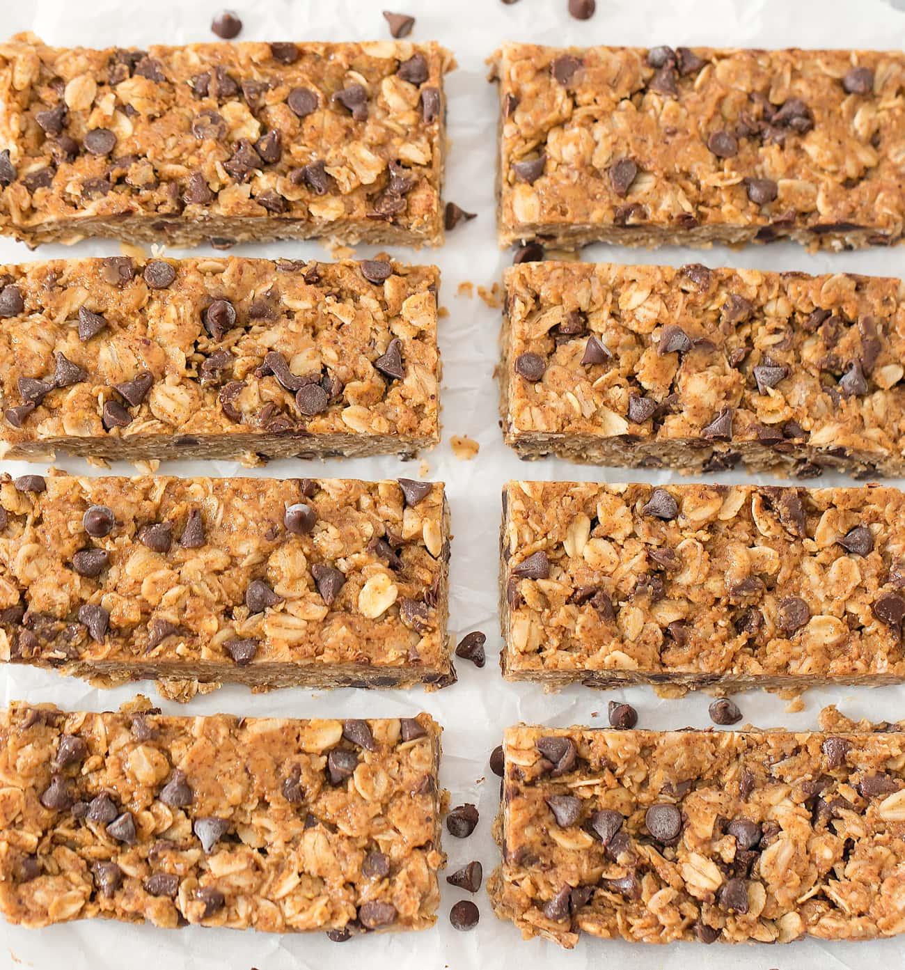4 Ingredient No Bake Healthy Granola Bars Kirbie S Cravings