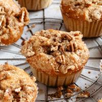 pumpkin streusel muffin.