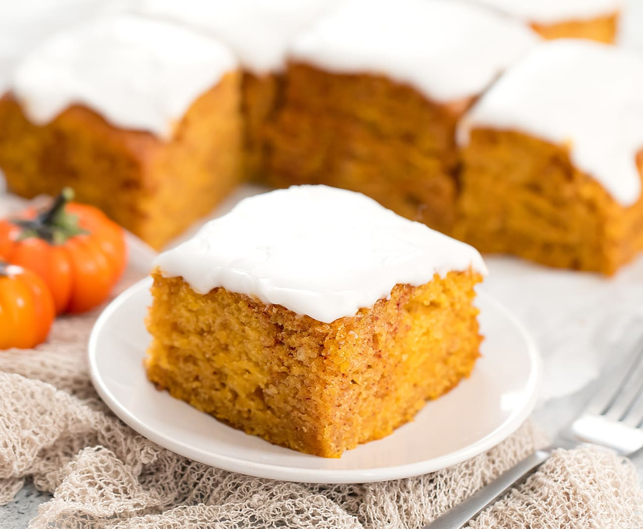 Pumpkin Cake No Eggs Butter Or Milk Kirbie S Cravings