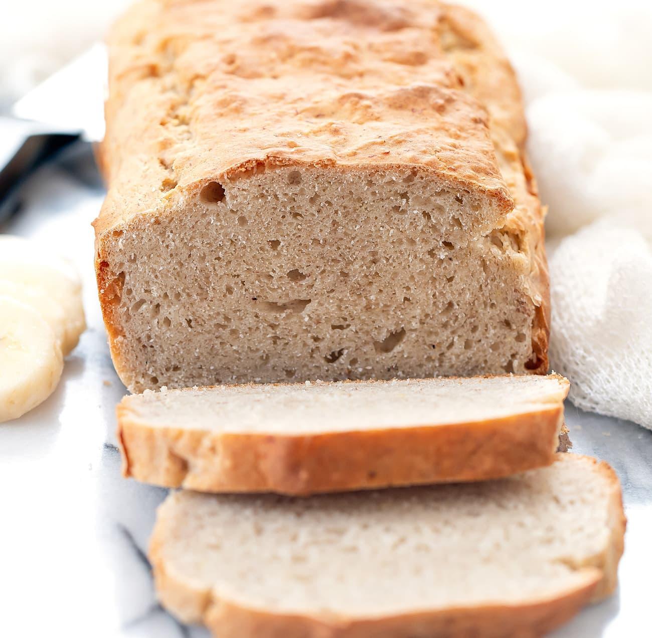 3 Ingredient Banana Bread No Butter Oil Eggs Or Refined Sugar Kirbie S Cravings