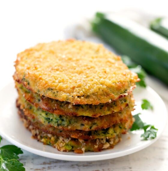 4 Ingredient Zucchini Hash Browns (Keto, Low Carb)