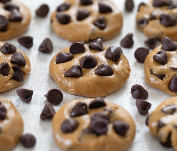 no bake chocolate chip cookies.